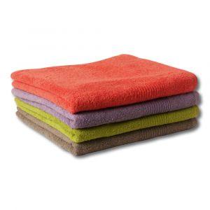 Drap de bain éponge 100% coton bio
