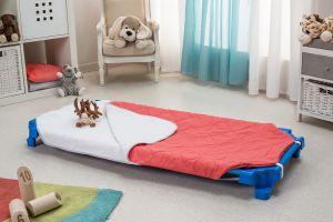 Sac de couchage doublé éponge blanche pour couchette