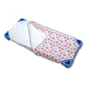 Sac de couchage demi saison couchette  - Imprimé Chouette
